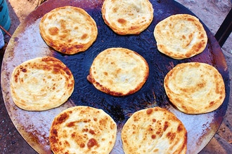 Paratha Workshop (Indian Breads with Filling)